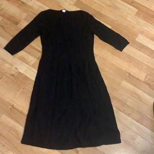 Max Mara weekend black knit dress sz s